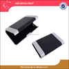 Vogue Durable Eco-friendly leather name card holder wallet case for business men Ladies Student business ID card holder