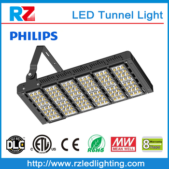 Energy saving high efficiency commercial 300w led tunnel light