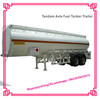 3 Axle 45000l Steel Fuel Tanker /diesel/petroleum Tanker Semi Trailer