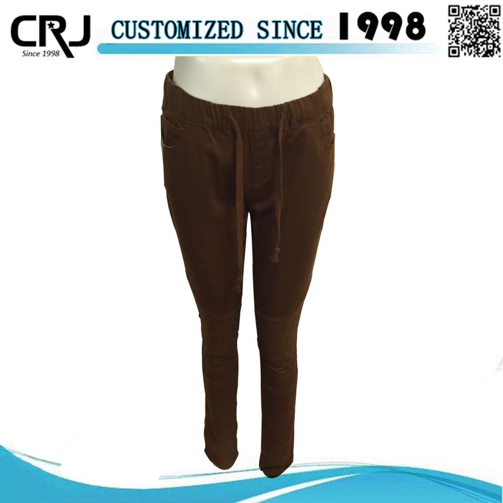Formal Pants For Girls, Lady Twill Jogger Pants
