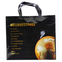 Promotional Custom Laminated Non Woven Bag Fold For shopping