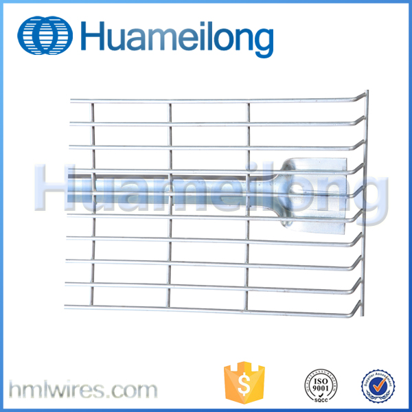 Galvanized Metallic Storage Pallet Rack Wire Mesh Decking