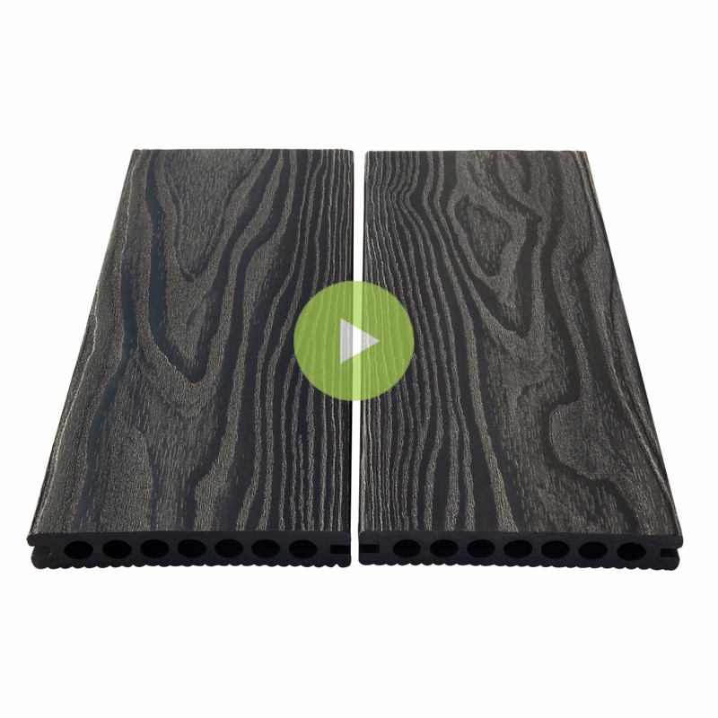 Fashion outdoor flooring/composite decking/wood plastic decking
