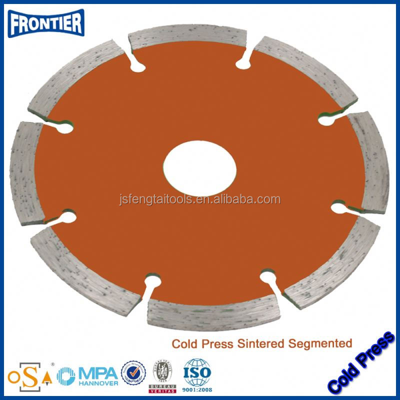 Europe Quality Granite Wet diamond Saw Blade for cutting