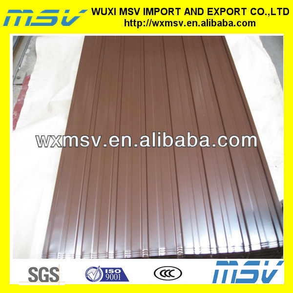 Metal roofing sheets for corrugated roof and diy roofing