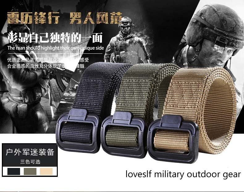 Loveslf TDU belt military tactical belt high quality army belt