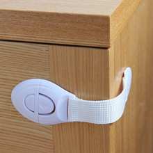 Adjustable Child <strong>Safety</strong> Locks Infant Baby Anti-pinch Drawer Door Refrigerator Lock