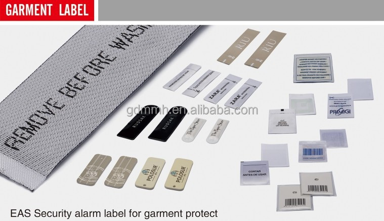 RF Eas alarm system Hang tag for retail garment store, shoe store anti theft