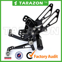CNC motorcycle aluminum Adjustable Rear sets for KAWASAKI Z1000