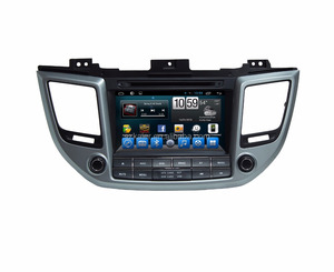 Low price Car dvd player / android 6.0 car audio navigation with 3G+4G +wifi for tucson,ix35 2015
