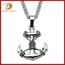 Stainless Steel Anchor Pendant,Wholesale Fashion Jewellery,Chain Custom Dermal Anchor Jewelry Necklace