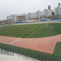 outdoor sports synthetic surface materials, synthetic rubber running track surface
