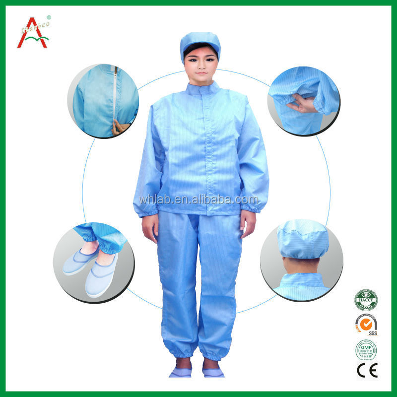 ESD Workwear Antistatic Garment Jacket & trousers