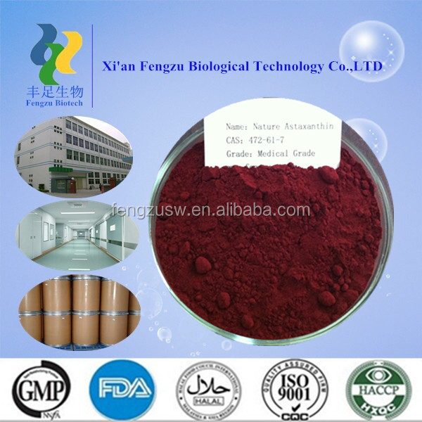 supply natural astaxanthin powder and oil & water soluble astaxanthin powder