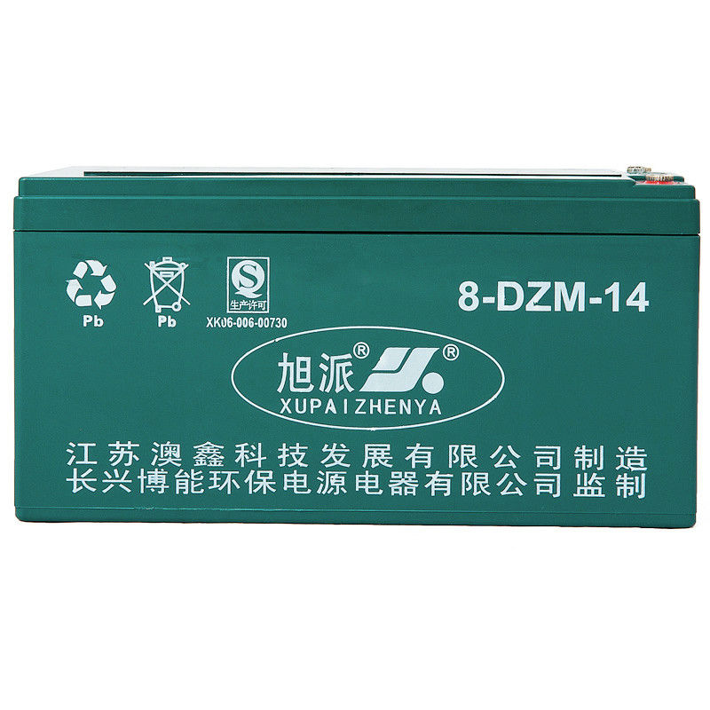 16V14ah AGM dry batteries scrap battery