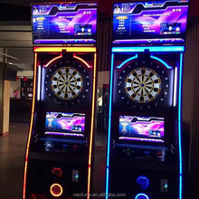 Selling Hot Arcade Game Machine Coin Operated Electronic Darts Game Machine With Soft Dart Design