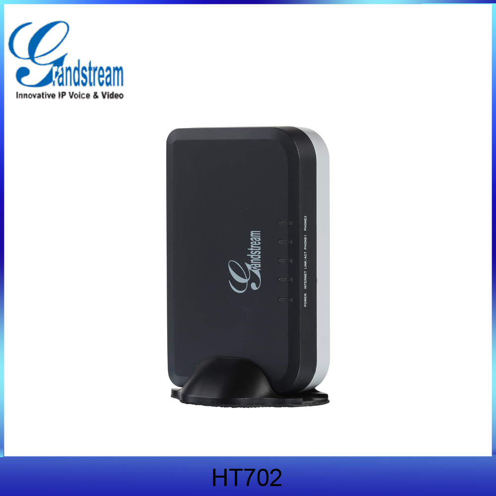 Grandstream HT702 gsm voip gateway supports 3-way voice conference without disturb