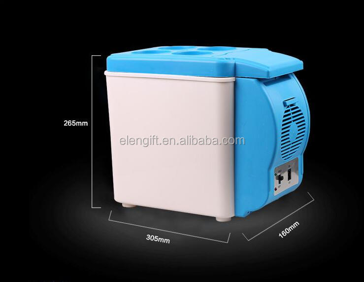 hot and cold dual-use car mini fridge dc 12v car portable fridge freezer refrigerator