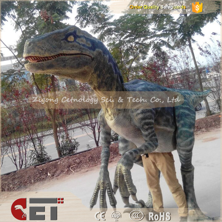 CET-N870 <strong>Show</strong> Attraction Adult King Dinosaur Costume and Raptor for Sale