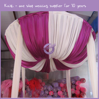 k9116-2 wedding square tent adjustable pipe and drape/pipe and drape wedding backdrop/quick