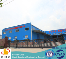 prefabricated manufactured steel structure material warehouse /workshop/building/shed hangar