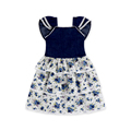 New Design Baby Girls Dress 3 Layers Floral Summer Dresses For 3 Years Baby Girl Boutique Wholesale Kids Evening Dresses 2018