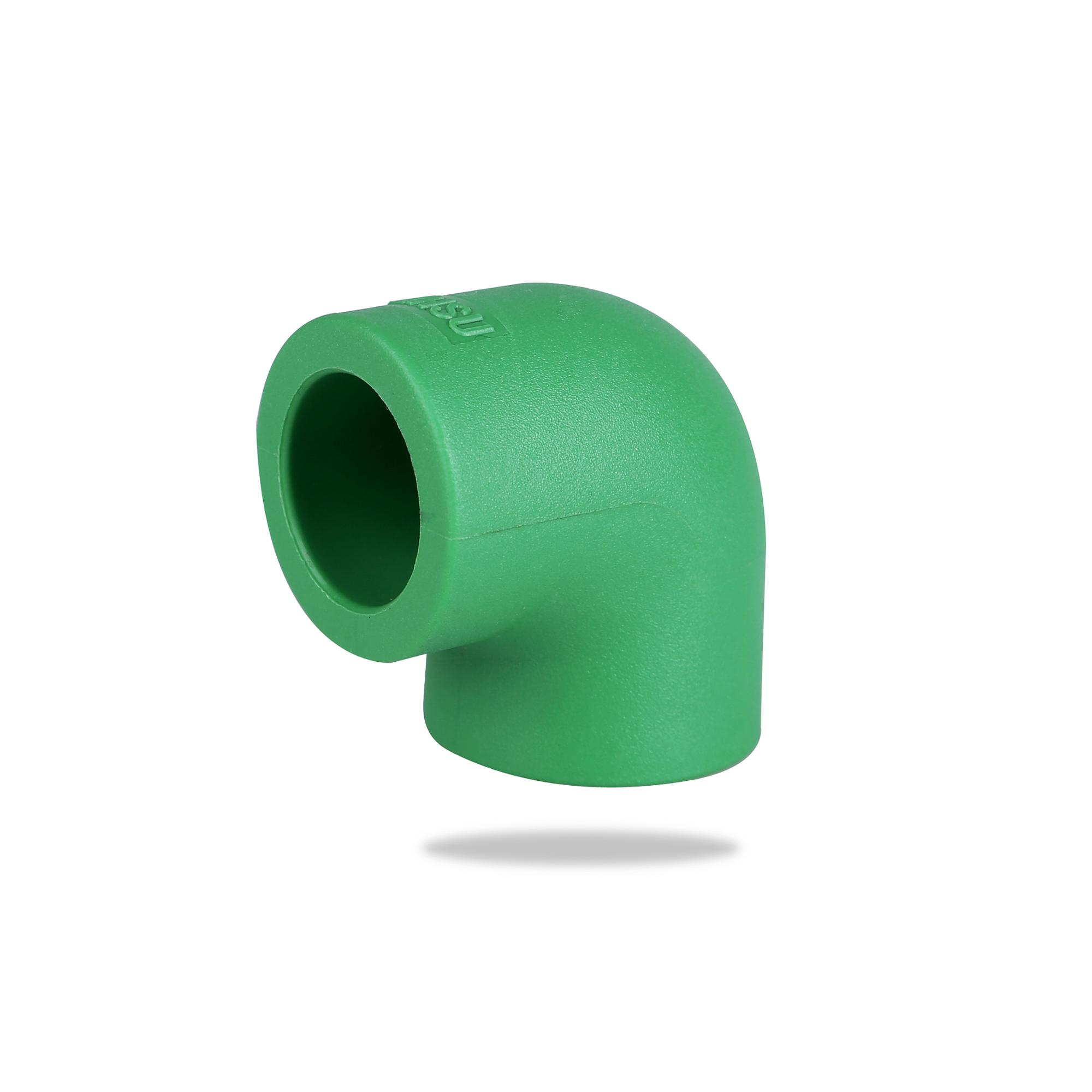 Beautiful shape plastic connectors 90 elbow PPR Pipe <strong>Fittings</strong>