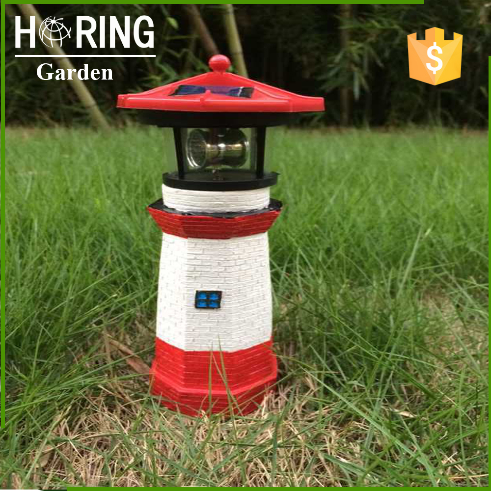 High Quality Lighthouse Solar Light for Decoration