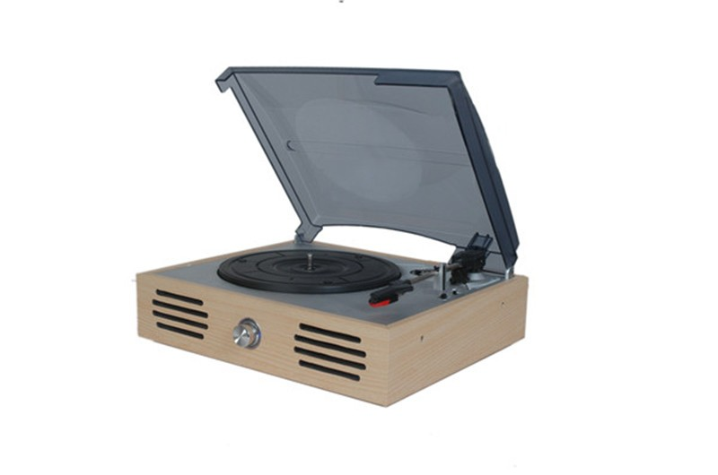 high end quality retro turntable vinyl recorder