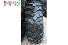 High-speed tyre 12.5-20 for military vehicles