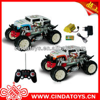 New RC Shooting Function Transfiguration Toy