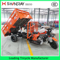 250cc Three wheel cargo tricycle with hydraulic lifter best price for sale