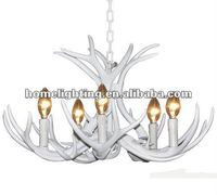 Whitetal deer antler chandelier 5 light (A6336-5)