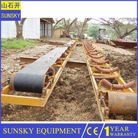Hight quality circular esd conveyor belt with magnetic used