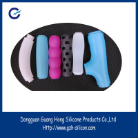 Factory customized soft razor handle silicone sleeves