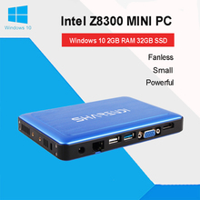 Baytrail MINI PC Fanless Windows10 Linux Ubuntu Barebone Z8300