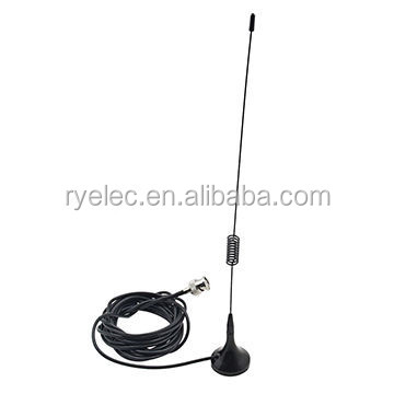 Dual Band VHF/UHF Magnetic antenna 144/430MHz for car Radio with BNC