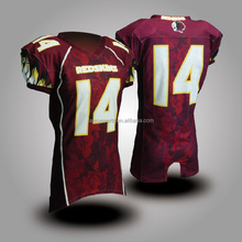 American football jersey Capless sleeve