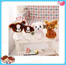 Wholesale Cheap Cute Multi Choice Stuffed Plush Big Eyes Dog Toys For Kids