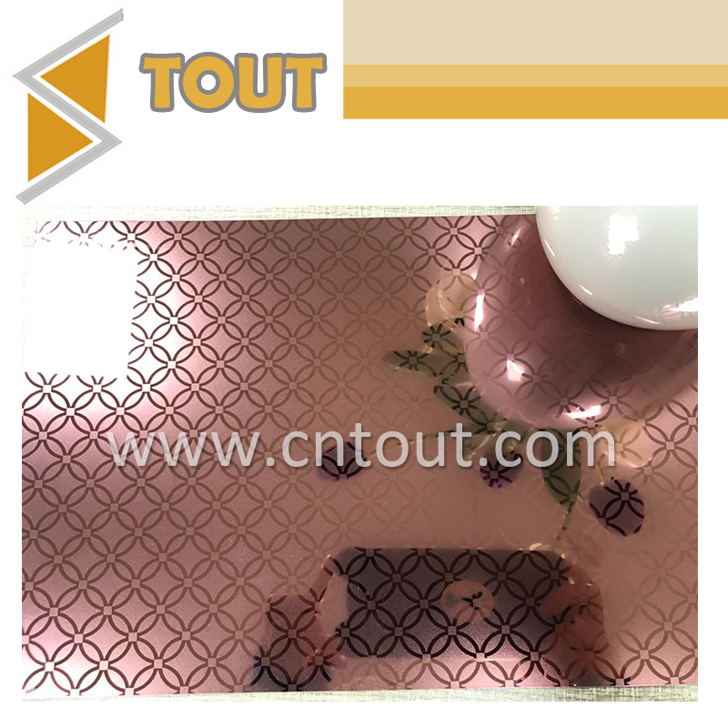Titanium Coated Brass Color Copper Finish Decorative Stainless Steel Metal Sheet