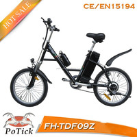 "20"" steel frame cheap city lady electric bike/ electric bicycle with ce/en15194"
