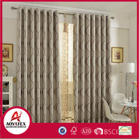 100% polyester window curtain with china Manufacturer