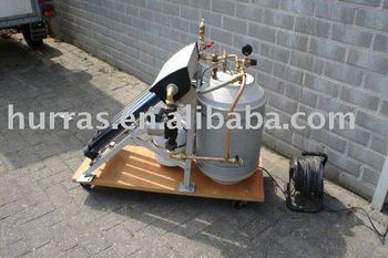 DEMO Solar Water Heater can show to customer easily
