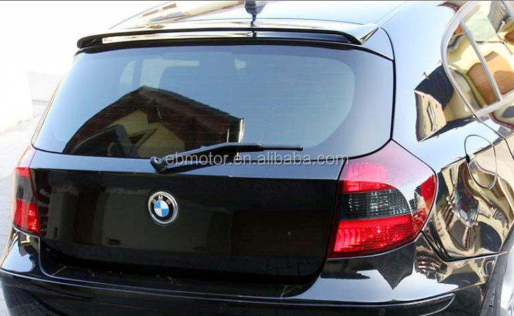 HAM Style Real CARBON FIBER REAR WINDOW ROOF LIP SPOILER Fit For BMW E87 1-SERIES HATCHBACK 5D 120i 130i 135i <strong>M1</strong> B050