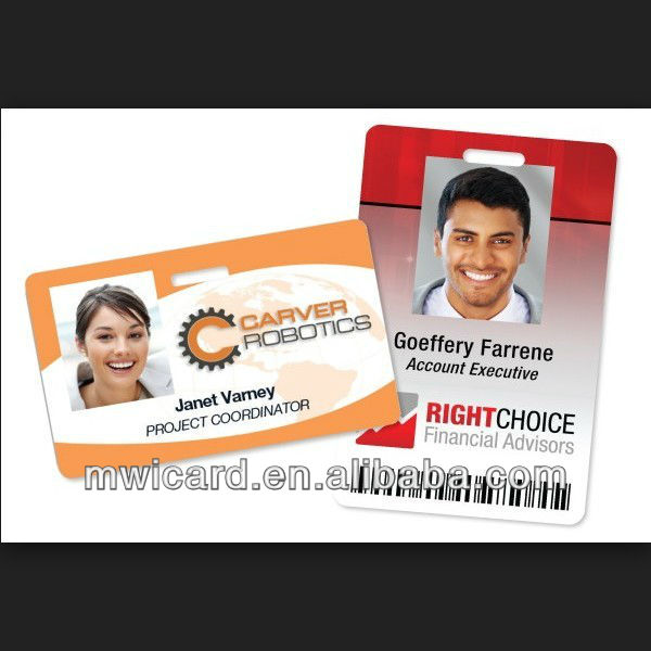High quality business pvc card ID card