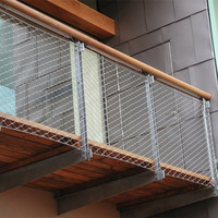 stainless steel balcony guarding mesh/Anping manufacturer