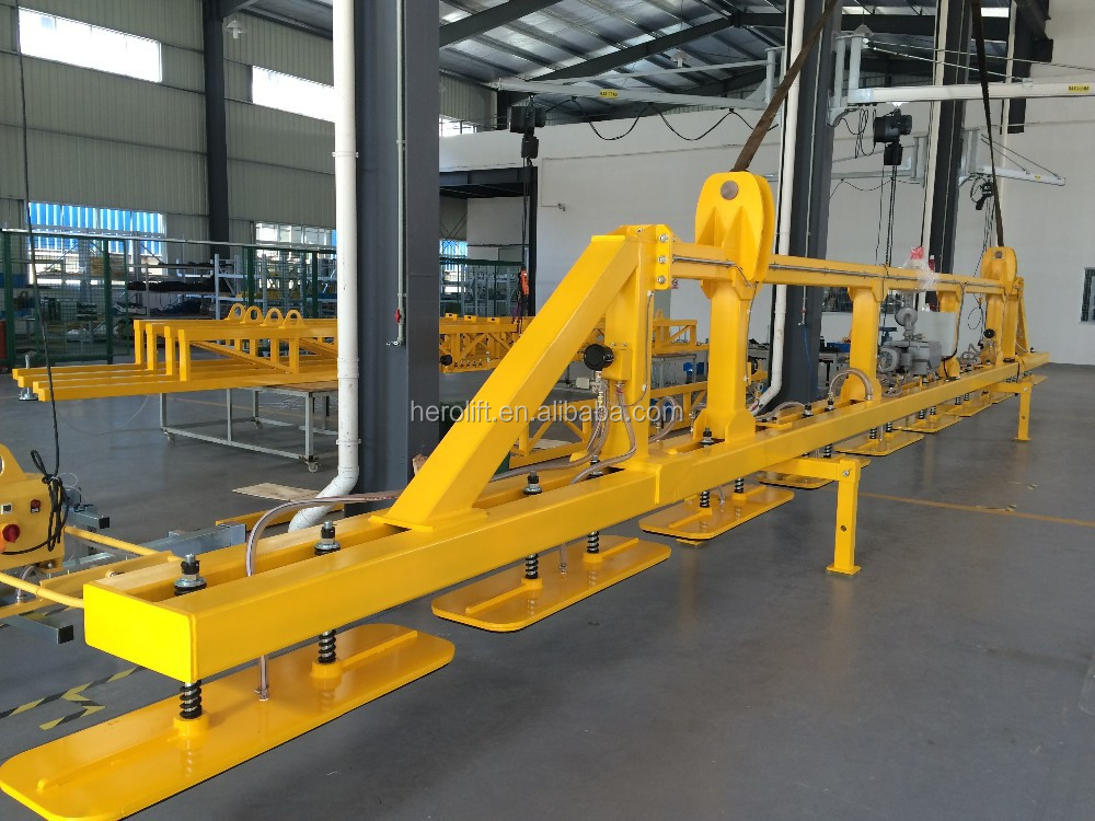 Vacuum lifter for precast pre stressed piles