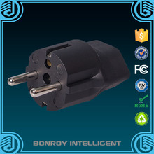 Manufacturer high quality ce rohs ac power schuko plug adapter iec c14 to schuko female socket adapter