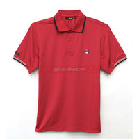 100% Cotton Polo T-shirts With Embroidered in Front
