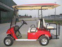 LSV car cheap price 4 seats Electric golf car/golf cart/golf buggy with flip flop seats,four seats EG2028KSZ